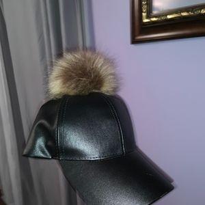 FUR BALL HAT
